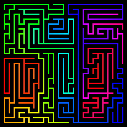 Maze025x025Length05SpectrumNarrowPath